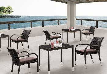 Outdoor Furniture Sets - Outdoor  Dining Sets - Fatsia Dining Set for 2