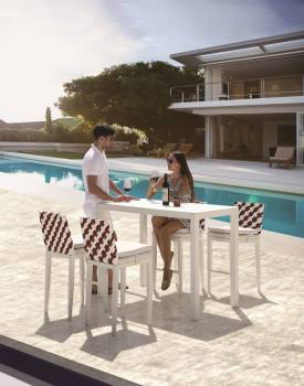 Outdoor Furniture Sets - Outdoor Bar Sets - Florence Bar Set for 4