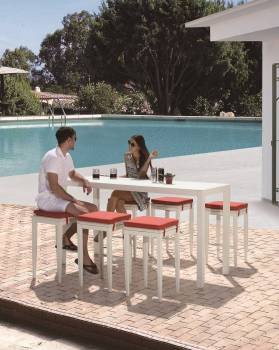 Outdoor Furniture Sets - Outdoor Bar Sets - Florence Bar Set for 6