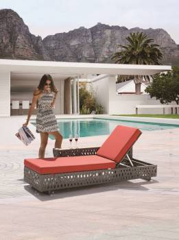 Outdoor Furniture Sets - Outdoor Chaise Lounges - Florence Chaise Lounge