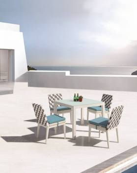 Outdoor Furniture Sets - Outdoor  Dining Sets - Florence Dining Set for 4