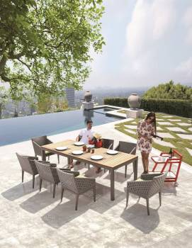 Outdoor Furniture Sets - Outdoor  Dining Sets - Florence Dining Set for 8