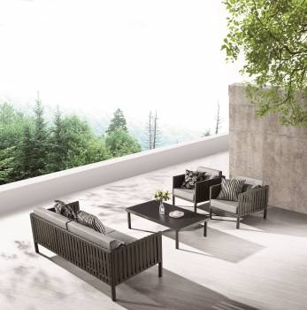 Outdoor Furniture Sets - Outdoor Sofa & Seating Sets - Garnet Sofa Set