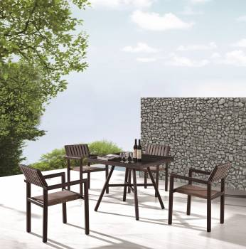 Outdoor Furniture Sets - Outdoor  Dining Sets - Garnet Dining Set For 4