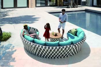 Verona U Shape Sofa Set - Image 2