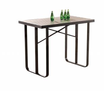 Individual Pieces - Bar Tables - Polo Modern Outdoor Bar Table for 4