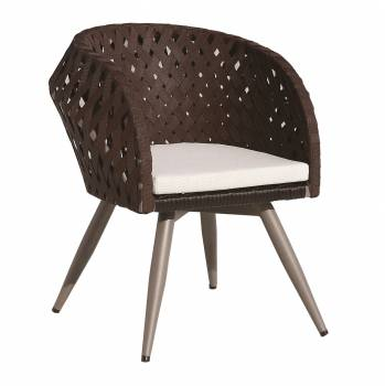 Verona Dining Chair with Arms - Image 5