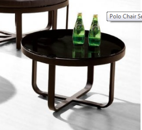 Shop By Collection - Polo Collection - Polo Medium Round Coffee Table