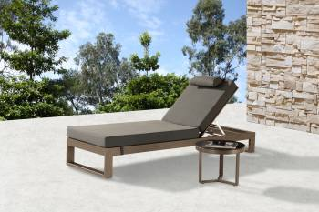 Outdoor Furniture Sets - Outdoor Chaise Lounges - Amber Chaise Lounge