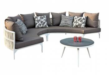 Shop By Collection - Kitaibela Collection - Kitaibela Round Sofa Set