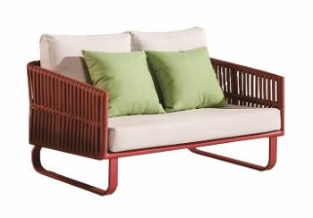 Outdoor Furniture Sets - Outdoor Sofa & Seating Sets - Apricot Loveseat Sofa