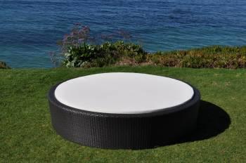 Flatiron Round Sun Bed