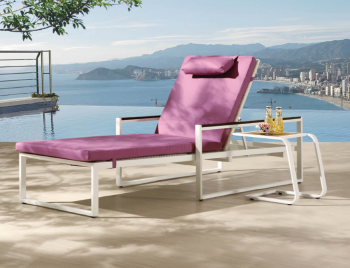 Outdoor Furniture Sets - Outdoor Chaise Lounges - Wisteria Chaise Lounge