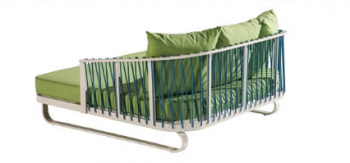 Shop By Collection -  Hyacinth Collection  - Hyacinth Outdoor Daybed