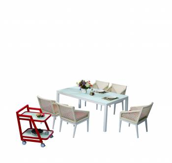 Outdoor Furniture Sets - Outdoor  Dining Sets - Provence Dining Set for 6