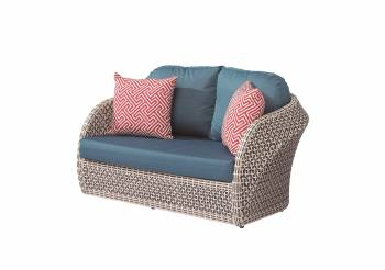 Outdoor Furniture Sets - Evian Loveseat Sofa for 2