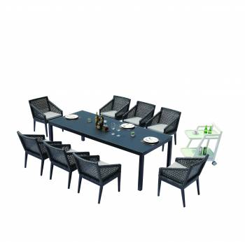 Outdoor Furniture Sets - Outdoor  Dining Sets - Provence Dining Set for 8
