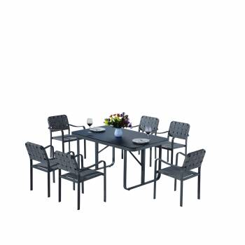 Edge Dining Set for 6