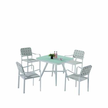 Shop By Collection and Style - Edge Collection - Edge Dining Set for 4