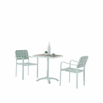 Edge Bistro Dining Set for 2