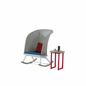 Evian Highback Rocking Club Chair - Image 2