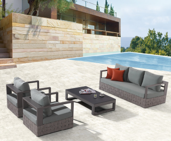 Outdoor Furniture Sets - Outdoor Sofa & Seating Sets - Edge Sofa Set for 5 with coffee table