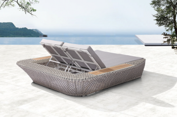Evian Double Chaise Lounge