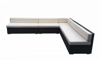 Shop By Collection and Style - Babmar - Swing 46 Armless Sectional Sofa Set with Storage Compartments