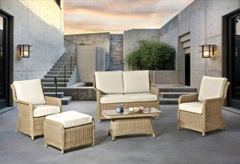 Outdoor Furniture Sets And Quick Ship Items - Outdoor Sofa & Seating Sets - Babmar - Fairfield Sofa Set