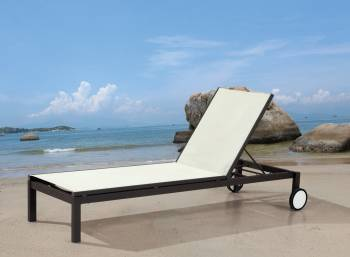 Outdoor Furniture Sets - Outdoor Chaise Lounges - Madison Stackable Chaise Lounge