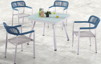 Shop by Category  - Outdoor Dining Sets - Venice Dining Set for 4 with arms