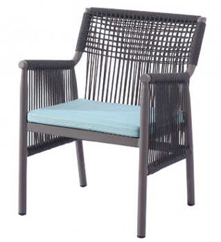 Shop By Collection - Venice Collection - Venice Dining Chair with Woven Sides