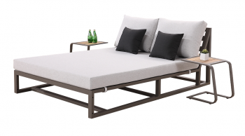 Shop By Collection - Tribeca Collection - Tribeca Double Chaise Lounge