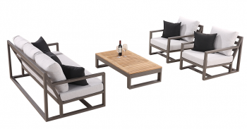 Shop By Collection - Tribeca Collection - Tribeca 5 Seater Sofa Set with 2 Club Chairs