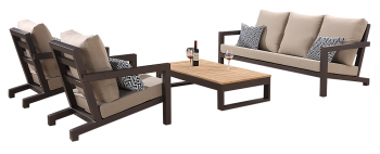 Shop By Collection - Soho Collection - Soho 5 Seater Sofa Set with 2 Club Chairs