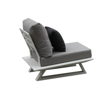 Luxe Armless Club Chair - Image 2