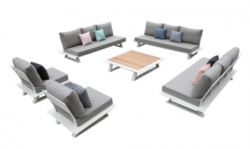 Shop By Collection - Luxe Collection - Luxe Sofa Set for 11 with Coffee Table
