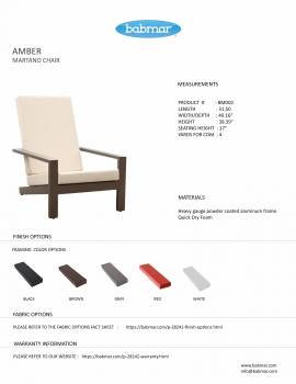 Amber Martano Chair - Image 3
