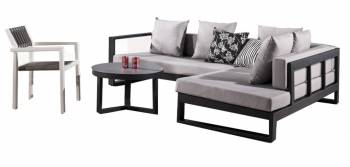 Shop By Category - Outdoor Seating Sets - Amber Lounge Set