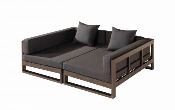 Shop By Category - Outdoor Daybeds - Amber Modular Double Daybed