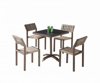 Shop by Category  - Outdoor Dining Sets - Amber Dining Set For 4 without Arms