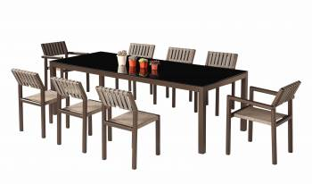 Shop By Collection - Amber Collection - Amber Dining Set For 8