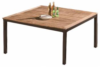 "Individual Pieces - Dining Tables - Amber Square Dining Table For 8 - 60"" x 60"" x 29.5"""