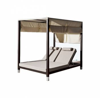 Shop By Collection - Amber Collection - Amber Double Daybed with canopy