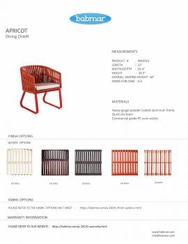 Apricot Dining Chair