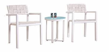 Shop By Category - Outdoor Seating Sets - Asthina Seating for 2 with Side Table