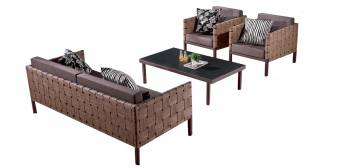 Shop by Category  - Outdoor Seating Sets - Asthina Sofa Set