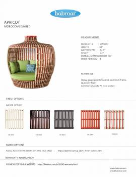 Apricot Moroccan Daybed - Image 4