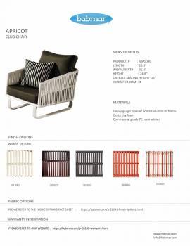 Apricot Club Chair
