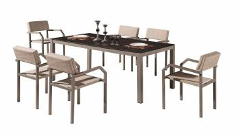 Shop by Category  - Outdoor Dining Sets - Barite Dining Set for 6